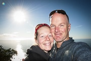 About the queenstown wedding blog Patrick Fallon and Jada on the west coast - sunshine and no sandflies!