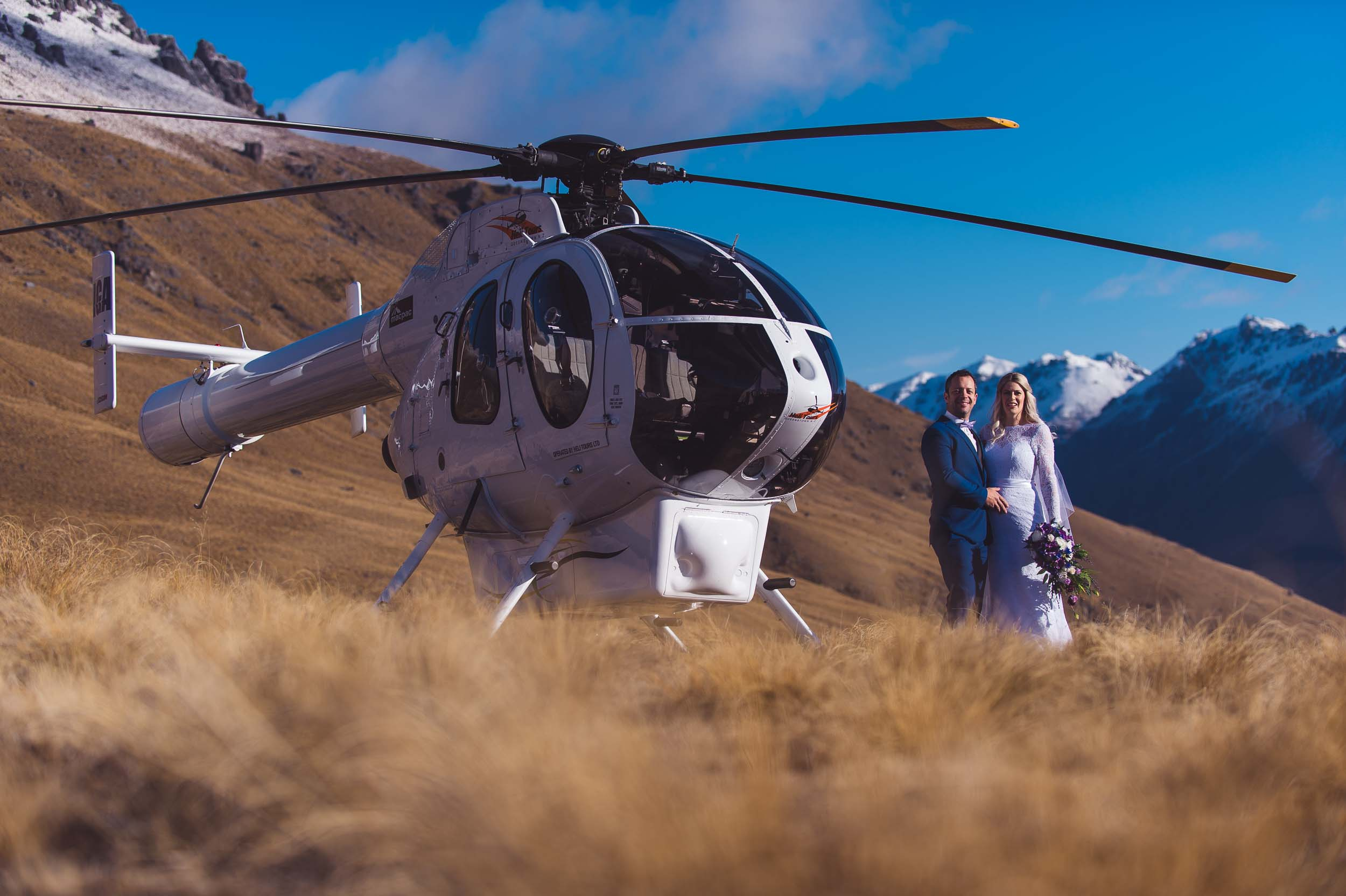 Best Queenstown Wedding Vendors Heliworks Queenstown Wedding Vendor Helicopter