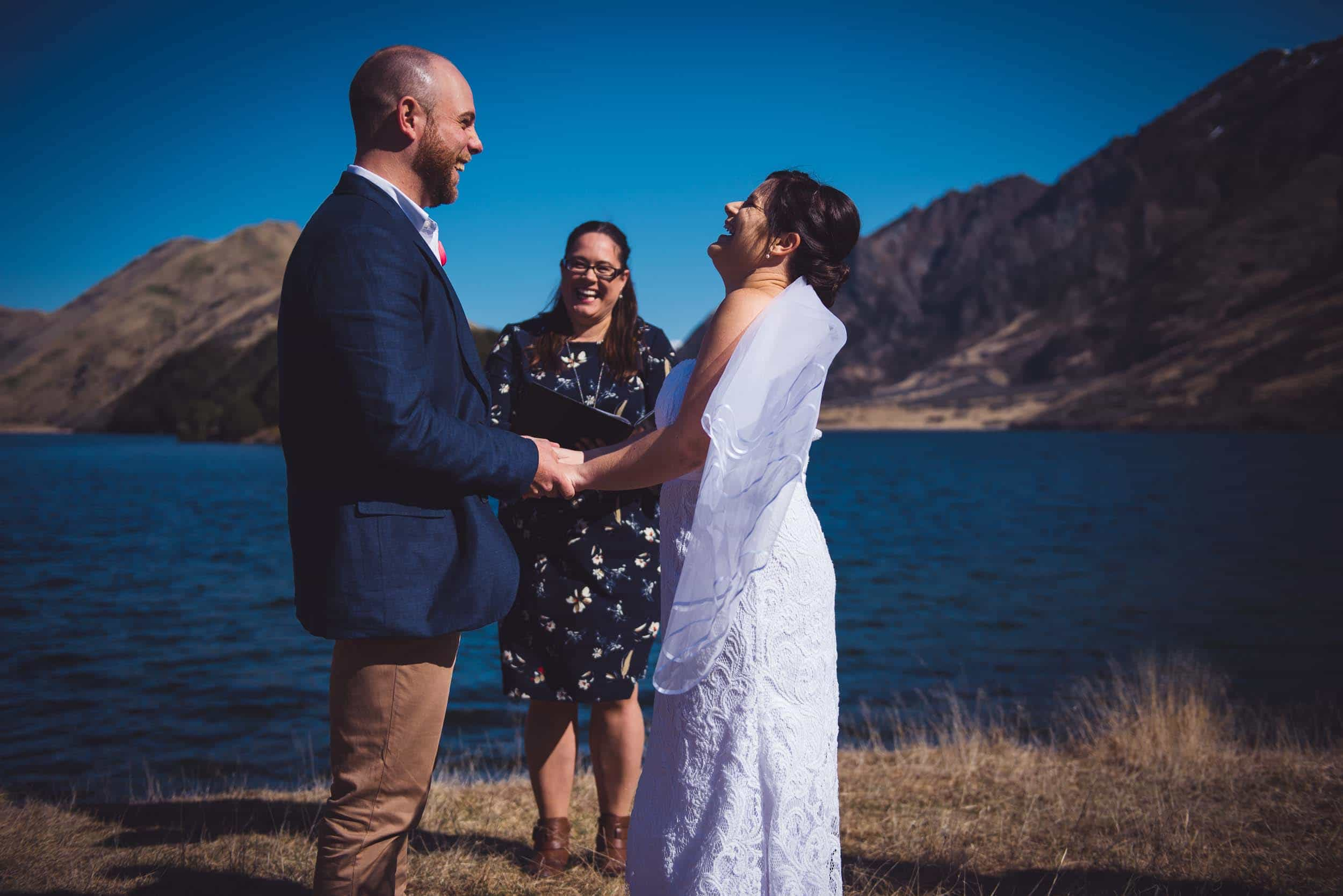 Philippa Thomas Queenstown Wedding Celebrant Moke Lake Wedding