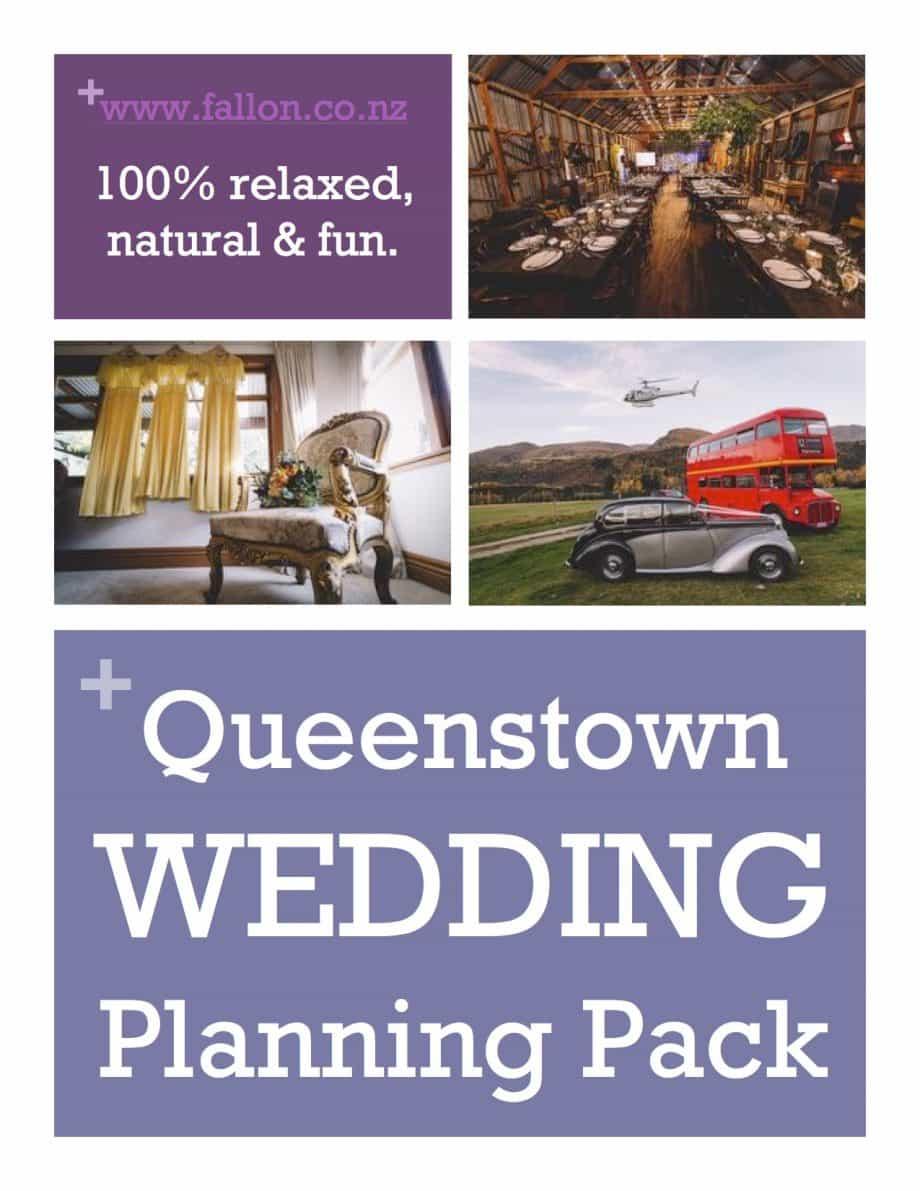 Queenstown Wedding Planning Pack eBook by Fallon Photography www.fallon.co.nz